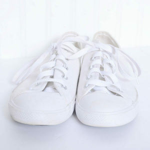 Converse All Star Womens Sneakers White Gold Fleck